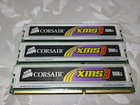 3 X CORSAIR 1GB DDR3 1333MHZ RAM (KİT) Ankara, 06796