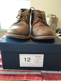 Oak Street Bootmakers Natural Trench Chukka size 12 Centreville