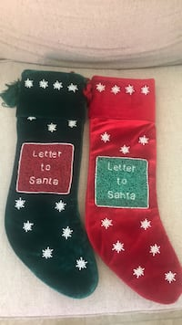 Never used xmas stockings Sarasota, 34243