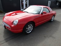 2002 Ford Thunderbird ROADSTER HARDTOP 40K MILES *RED* ITS THE ONE !! Milwaukie, 97222