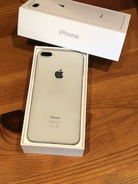 silver iPhone 8 Plus with box PHOENIX