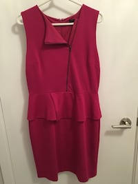 Pink Banana Republic peplum dress  Toronto, M5J 3B2