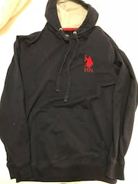 Navy blue polo hoodie  Barrie, L4M 3H9