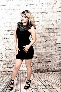 Women's black sleeveless dress the back does tie into a perfect lil bowe Greenwood Village, 80111