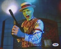 Jim Carrey Signed THE MASK Photo Barrie