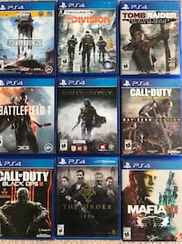 ps4 games Mississauga, L5N