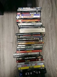 assorted DVD movie case lot Langley, V3A 2T6