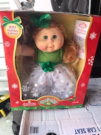 2017 Christmas edition cabbage patch doll