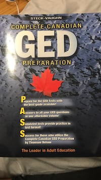 GED book for sale