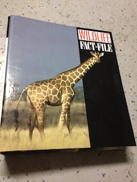Wildlife Fact-File collection of cards Saint Johns