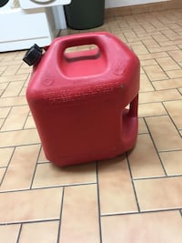 red and black plastic container 3748 km