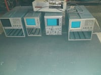 Tektronix Oscilloscopes all of them for 60 dollars obo.