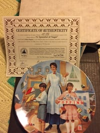 woman and two kids print decorative plate Glendale, 85305