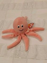 Inky the squid beanie baby