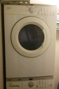 white Arcelik front-load washer Falls Church, 22042