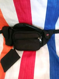 black and red leather crossbody bag Titusville, 32780