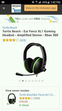 Turtle Beach headset for Xbox 360 like brand new Hamilton, L8L 6G9