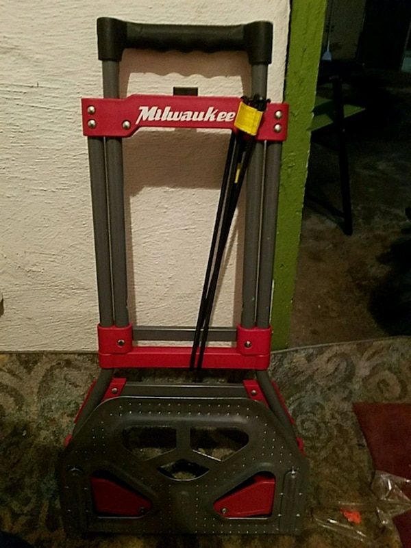 Used Milwaukee Tool Bag Or Tool Box Cart For Sale In