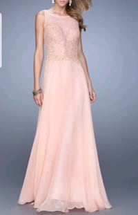 Coral sleeveless gown Vaughan, L4K 5A8