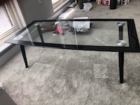 Glass table- good for living room Silver Spring