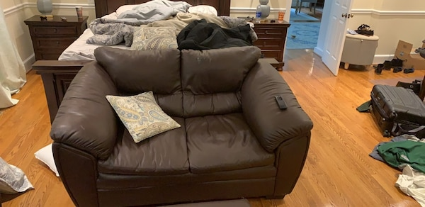 Loveseat,ottoman, and chair