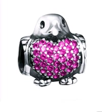 NEW SEALED - S925 silver FITS PANDORA penguin charm