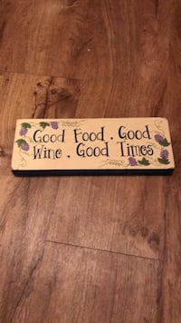 white and black wooden quote board New Iberia, 70560