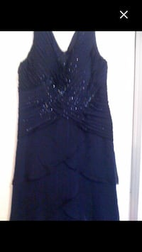 Laura's formal evening dress. Size 16 worn once, excellent condition.