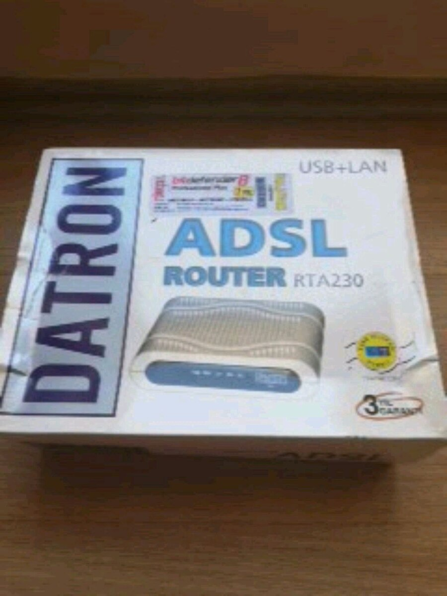 DOWNLOAD DRIVER: DATRON RTA230 ADSL MODEM