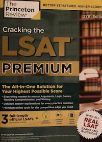 LSAT Prep Book NEW Newton