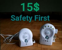 Safety 1st baby monitor / Moniteurs Montreal, H1G 6G1