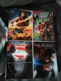 four assorted DVD movie cases 3732 km
