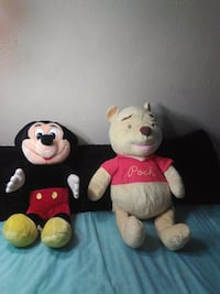 Mickey mouse and Winnie the Pooh  Baldwin Park, 91706