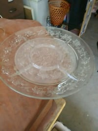 clear glass bowl with lid Hesperia, 92344