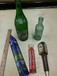 Old 7up or Moxie bottles, beer taps are sold Allentown, 18104
