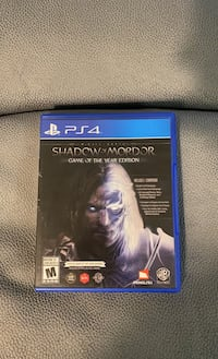 Shadow of Mordor - game of the year edition Toronto, M9B