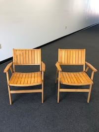 Deck chairs / solid wood Virginia Beach, 23454