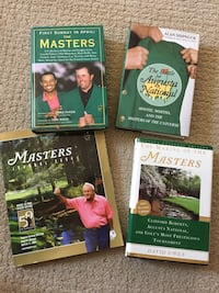 Masters Golf Book Collection Waterloo, N2K