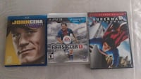 3 different game for PS3 and 2 movie Apopka, 32703