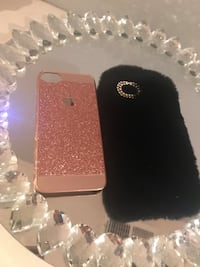 Furry and glitter  iPhone 7 case Linden, 07036