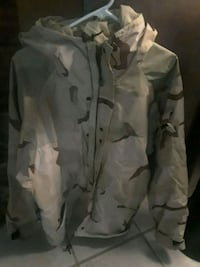 white and gray camouflage button-up jacket Virginia Beach, 23452
