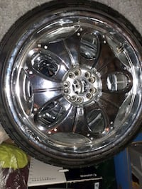 D' vinci 20inches with good tread on 3 and one new all nitto tire  Baltimore, 21202