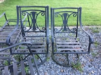 Patio set with table, 4 chairs and chaise. $75 Phoenixville, 19460