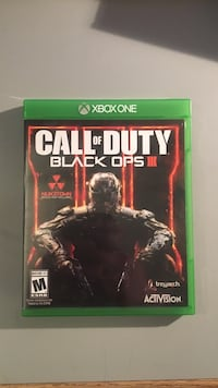 Call of Duty Black Ops 3 Xbox One game case Toronto