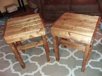 End Tables (pair) Pallet Style BUFFALO