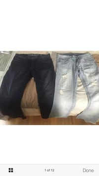 Two Guess jeans with Guess shirt. Mint