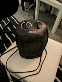 black and gray portable air heater  Toronto, M4X 1W5