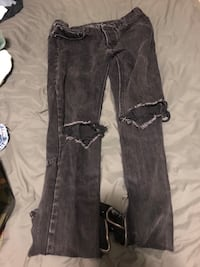 Women's black denim pants Langford, V9B 4S5
