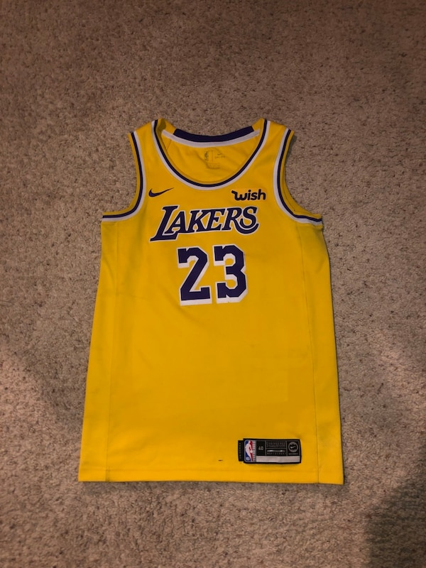 official photos 0f5b6 27c09 Lebron James Lakers Authentic Jersey