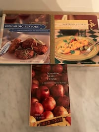 LOT OF THREE SEPHARDIC COOKING BOOKS  Toronto, M6K 0A5